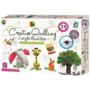 Creative Quilling Jungle Buddies 2 in 1 Kit