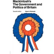 Mackintosh's the Government and Politics of Britain by Peter Godfrey Richards