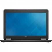 Лаптоп Dell Latitude E7250, Intel Core i5-5300U (2.3 GHz, 3MB), 12.5 инча HD (1366x768) Anti-Glare WLED LCD, 8GB, 128GB - CA007LE7250EMEA