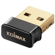 Adaptor Wireless Edimax EW-7711ULC, 802.11ac/a/n, 5GHz, USB nano (Negru)