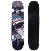 Skate Radical Iniciante Tubarão Skateboard Shape 80x19 Bel Sports - 401900