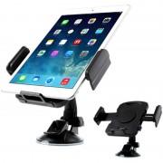 Suporte Universal Automóvel para Tablet 7-11 - Preto