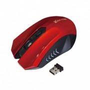 Mouse Wireless VAKOSS TM-658UR 4D Optic Rosu