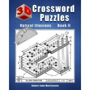3D Crossword Puzzles: Optical Illusions Book II