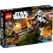Lego star wars scout trooper e speeder bike