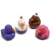 Fun Express 12 Sweet Treat Cupcake Ice Cream Rubber Ducks