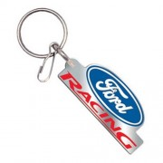 """""""Keychain - Ford Racing With Blue Oval"""""""