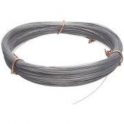 High Carbon Steel Wire #2B (Smooth) Finish Full Hard Temper ASTM A228 0.014 Diameter 477 Length Precision Toleran