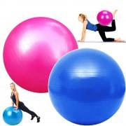 Bola Yoga Pilates Fitness Suiça 65cm-M com Bomba CBR01070