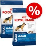 Dubbelpak: 2 x grote zak Royal Canin Size - Maxi Hondenvoer - Maxi Light Weight Care(2 x 15 kg)