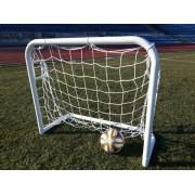 Poarta minifotbal 1,2x1m din profil rotund de otel 50mm