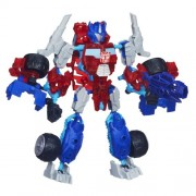 Transformers Construct-Bots Elite Class Optimus Prime Buildable Action Figure