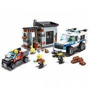 Wange Building Block Super Police Police Dog Unit 52011 3doll 380pcs Compatible with Lego