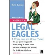 Careers for Legal Eagles and Other Law-and-order Types by Blythe Camenson