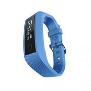 sendream Bluetooth 4.0 Deporte pulsera Fitness Tracker podómetro de seguimiento de calorías Health Monitor de frecuencia cardíaca/seguimiento sueño pulsera impermeable IP67 Compatible con Android y iOS Smartphones