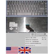 Clavier Qwerty US International Pour ACER Travelmate TM8371 TM8471 8371 8471 Series, Noir / Black, Model: NSK-AT01D, P/N: 9Z.N3L82.01D, KB.I140A.167