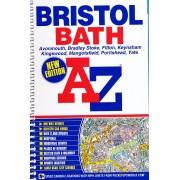 Plattegrond - Wegenatlas Bristol - Bath | A-Z