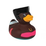 Bud Luxury Disco Duck Rubber Duck in Clear Plastic Box