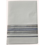 Kerala Traditional Silver with colour Double Mundu