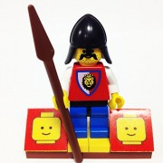 MinifigurePacks: Lego Castle Royal Knights Bundle (1) ROYAL KNIGHT (1) FIGURE DISPLAY BASE (1) FIGURE ACCESSORY