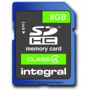 Card Integral SDHC 8GB Class 4