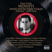 G.C. Menotti - Amahl & the Night Visitor (0747313336425) (1 CD)