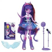 Poupée Rainbow Rocks Twilight Sparkle Avec Microphone Equestria Girls My Little Pony