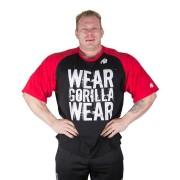 Gorilla Wear Colorado Oversized T-Shirt Black/Red - XL