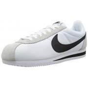 Nike Classic Cortez Nylon, Zapatillas de Deporte para Hombre, Blanco (Blanco (White/Black-Light Bone))