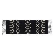 Wasbaar tapijt Bereber Black - 80x230cm