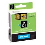 Dymo D1 Label Cassette 19mmx7m (SD45808) - Black on Yellow