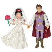 Mattel Disney Princess Little Kindgom Fairy Tale Wedding Set Snow White and Prince