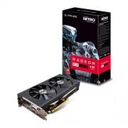 Zaffiro 11260 - 02 - 20 G 4 GB Sapphire RX 480 Nitro + 14 mm Polaris scheda grafica PCIe 3.0, colore: nero (7000 MHz GDDR5, 1208 MHz GPU, 1306 MHz Boost, 2304 flussi)