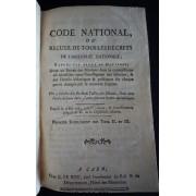 Code National Ou Recueil De Tous Les Décrets De L'assemblée Nationale, Rangés Par Ordre De Matières (Domaines Nationaux. Impôts)