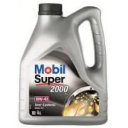 Ulei Semi-Sintetic MOBIL SUPER 2000 X1 10W40, 4 litrii