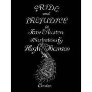 Jane Austen's Pride and Prejudice. Illustrated by Hugh Thomson. by Jane Austen