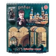Harry Potter: Hogwarts Building Cards: School of Witchcraft & Wizardry [With Harry Potter Figure, 275 Building Cards]