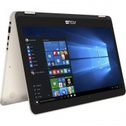 Laptop Asus ZenBook Flip UX360CA-DQ099T 13.3 inch Quad HD+ Touch Intel Core M7-6Y75 8GB DDR3 512GB SSD Windows 10 Gold