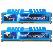 Mémoire LONG DIMM DDR3 G.Skill DIMM 8 GB DDR3-1866 Kit F3-14900CL8D-8GBXM, RipjawsX 8GB CL8 09/09/24 2 barettes
