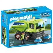 Playmobil - 6112 - Agent avec balayeuse de voirie