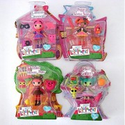Mini Lalaloopsy Bundle Set: Honey Pots Haley Galaxy Peggy Seven Seas & Confetti Carnivale by Lalaloopsy