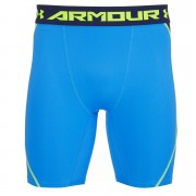 Under Armour Men's Armourvent Compression Training Shorts - Blue Jet/High-Vis Yellow - XXL