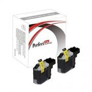PerfectPrint 2 Noir PerfectPrint Compatible Cartouche d'Encre remplacer LC-125 LC-127 pour Brother DCP-J4110DW MFC J4410DW J4510DW J4610DW J4710DW