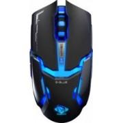 Mouse Gaming Optic E-Blue Auroza Type-IM Iluminat 4000dpi Negru
