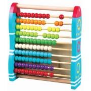 New Classic Toys - 0574 - Calcul Et Mathématiques - Boulier - Design Fusée - 2 En 1
