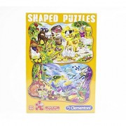 Set of 2 Shaped Animal Kingdom Puzzles (Farm and under water animals) Ages 5+