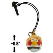Luke Skywalker Bird ~0.8 Angry Birds Star Wars Mini-Figure Phone Dangler Series #1