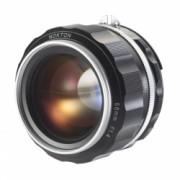 Voigtlander Nokton SLII-S 58mm F/1.4 - Nikon Ai-S, argintiu