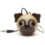 Boxa portabila KitSound MyDoodles Trendz Mini Buddy Pug