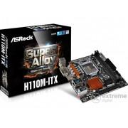 Placă de bază ASRock H110M-ITX s1151